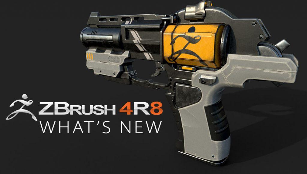 نرم افزار ZBrush 4R8