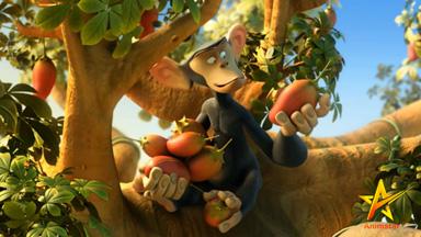 انیمیشن سه بعدی لبخند میمون